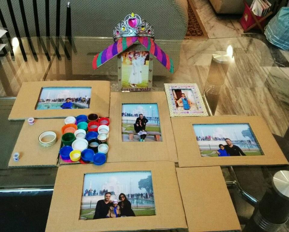 Photo Frames- Best Out Of Waste-CRAFT